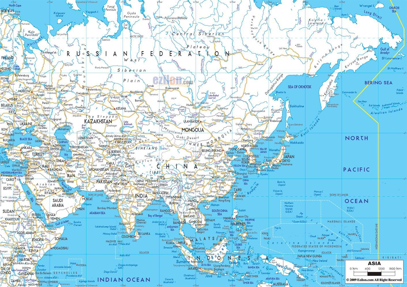 Rusiya Ptna Karta Ptna Karta Na Rusiya Iztochna Evropa Evropa