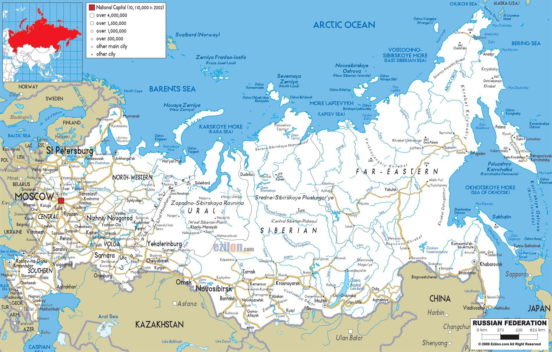Karta Na Ptishata V Rusiya Ruskata Ptna Karta Iztochna Evropa